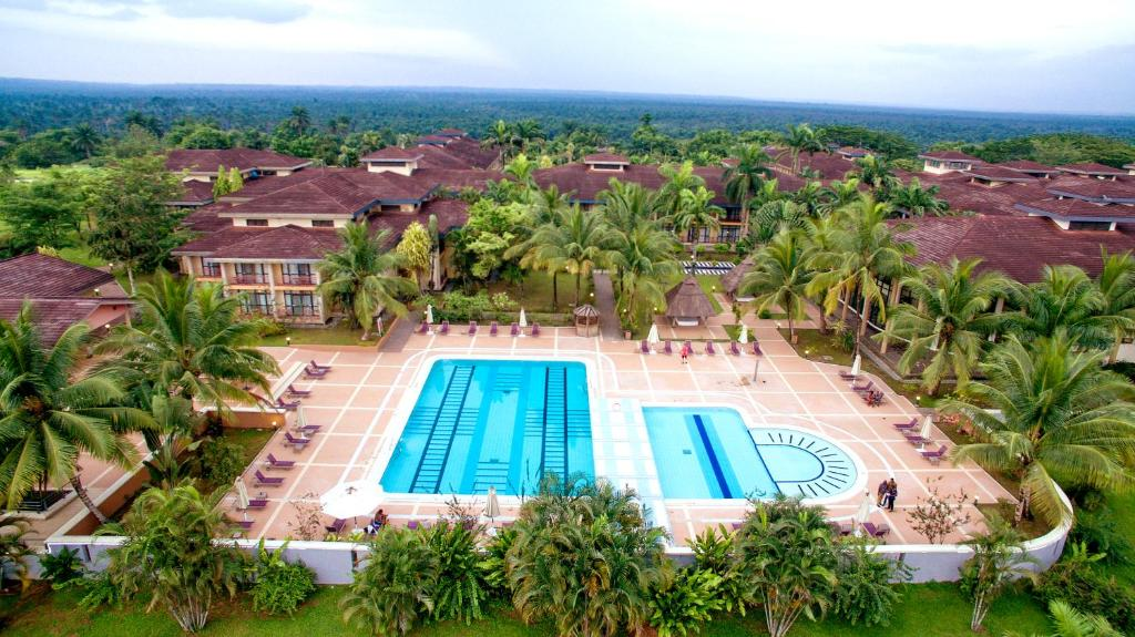 A view of the pool at Ibom Hotel & Golf Resort or nearby