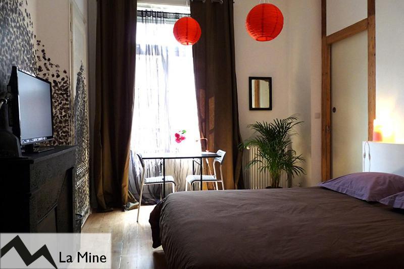 Un ou plusieurs lits dans un hébergement de l'établissement Chambres d'Hôtes Belle Étoile