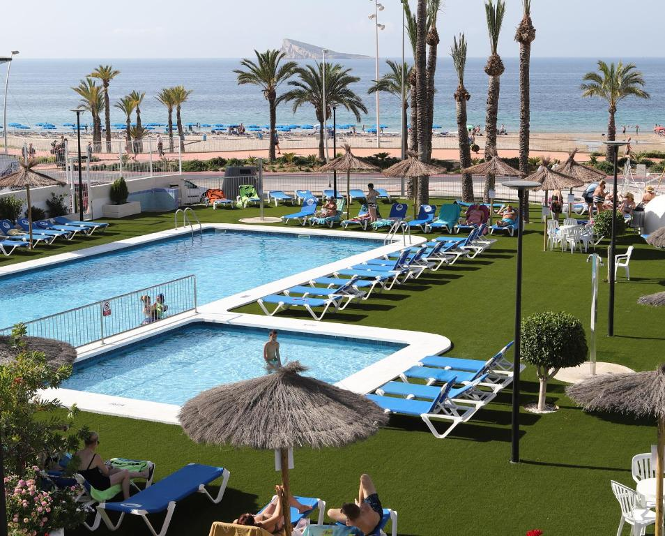 A view of the pool at Hotel Poseidon Playa or nearby