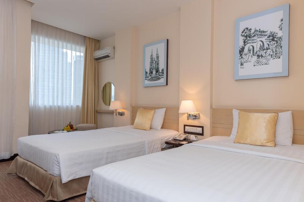 Phòng Deluxe 2 Giường đơn có Tầm nhìn