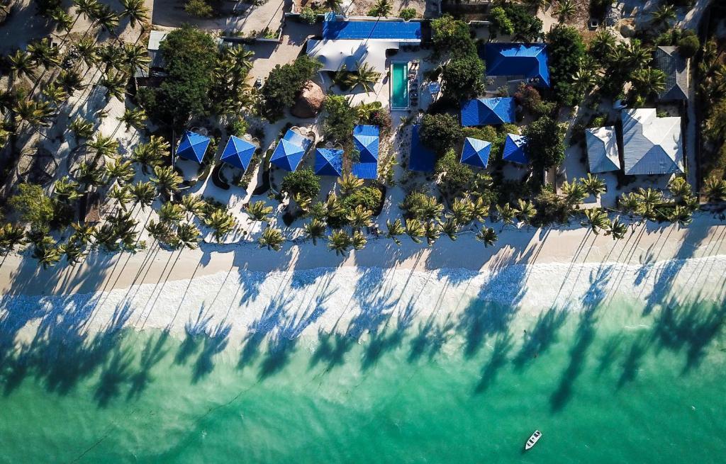 Indigo Beach Zanzibar tesisinin kuş bakışı görünümü