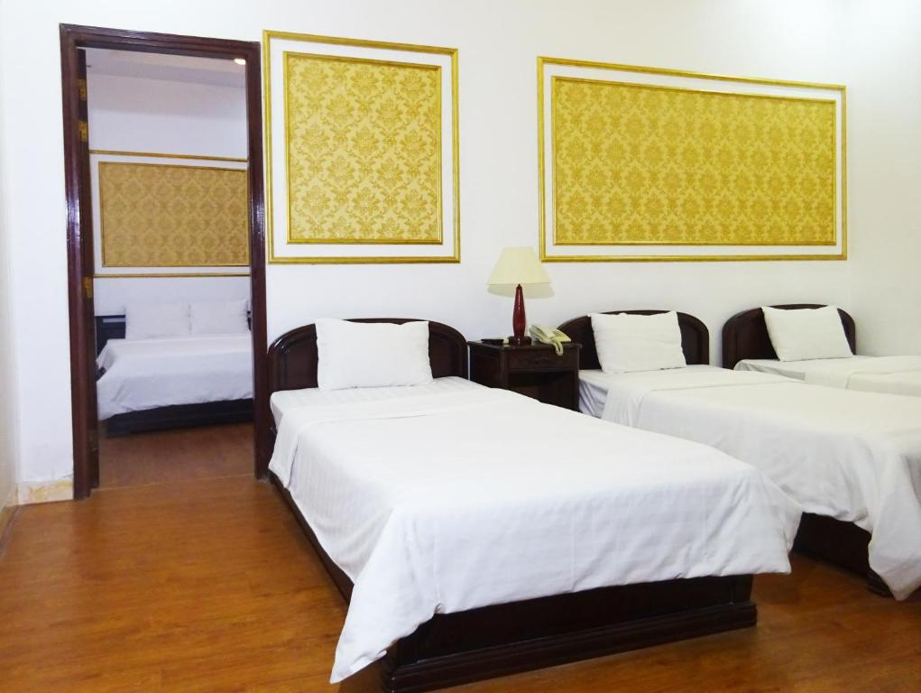 2 Phòng Giường Đôi Thông nhau