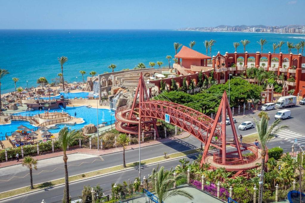 A bird's-eye view of Holiday World Resort