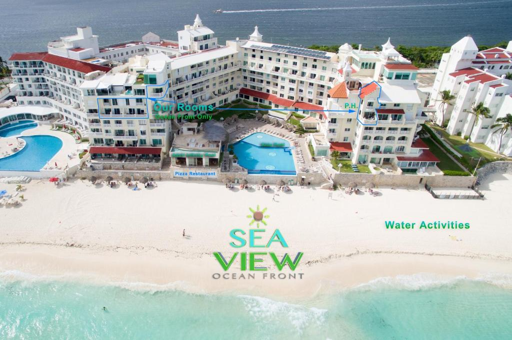 A bird's-eye view of Sea View - Ocean Front Only