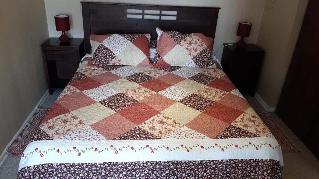 Cama o camas de una habitación en Departamentos Rohe