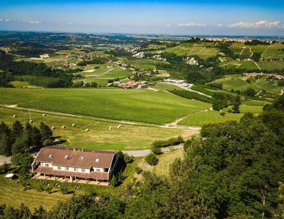 Vista aerea di LE SETTE VIE HOLIDAY HOMES