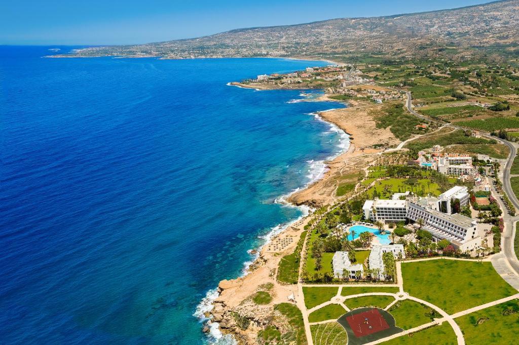 A bird's-eye view of Azia Resort & Spa
