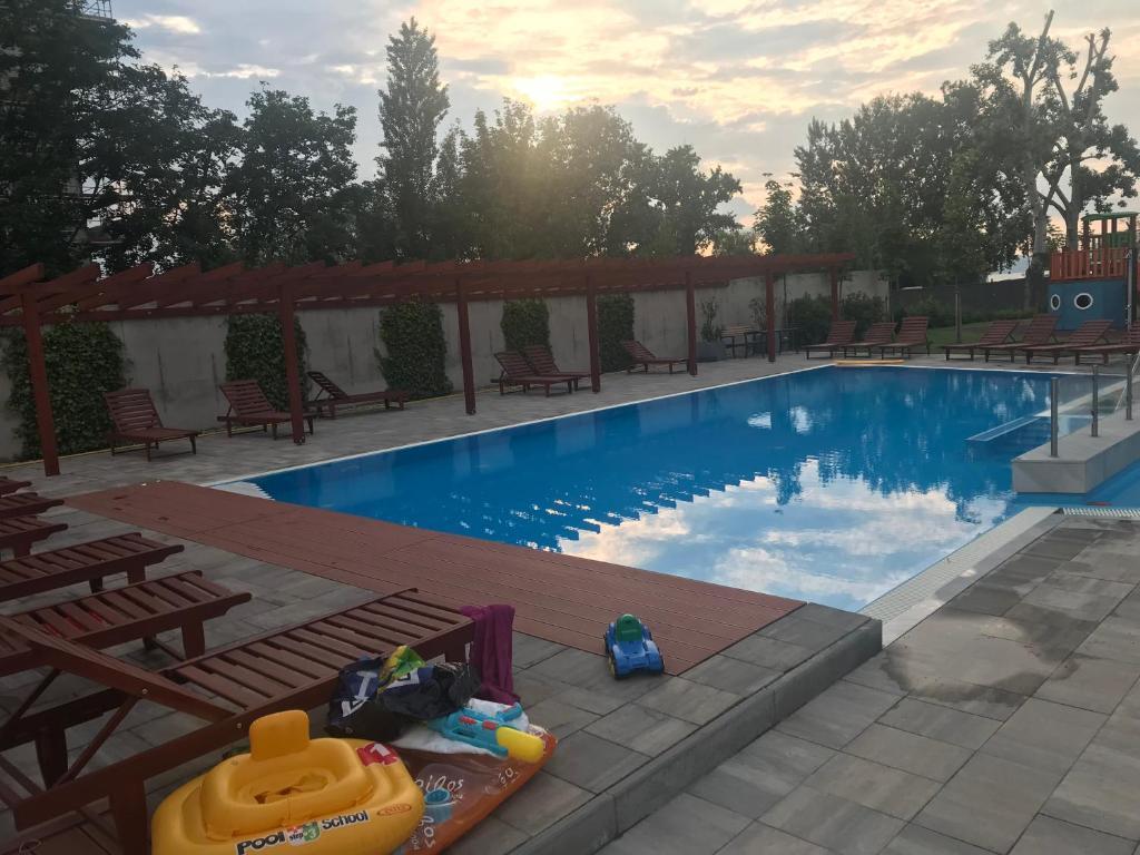 Admiral design and pool apartment (Ungarn Siófok) - Booking.com