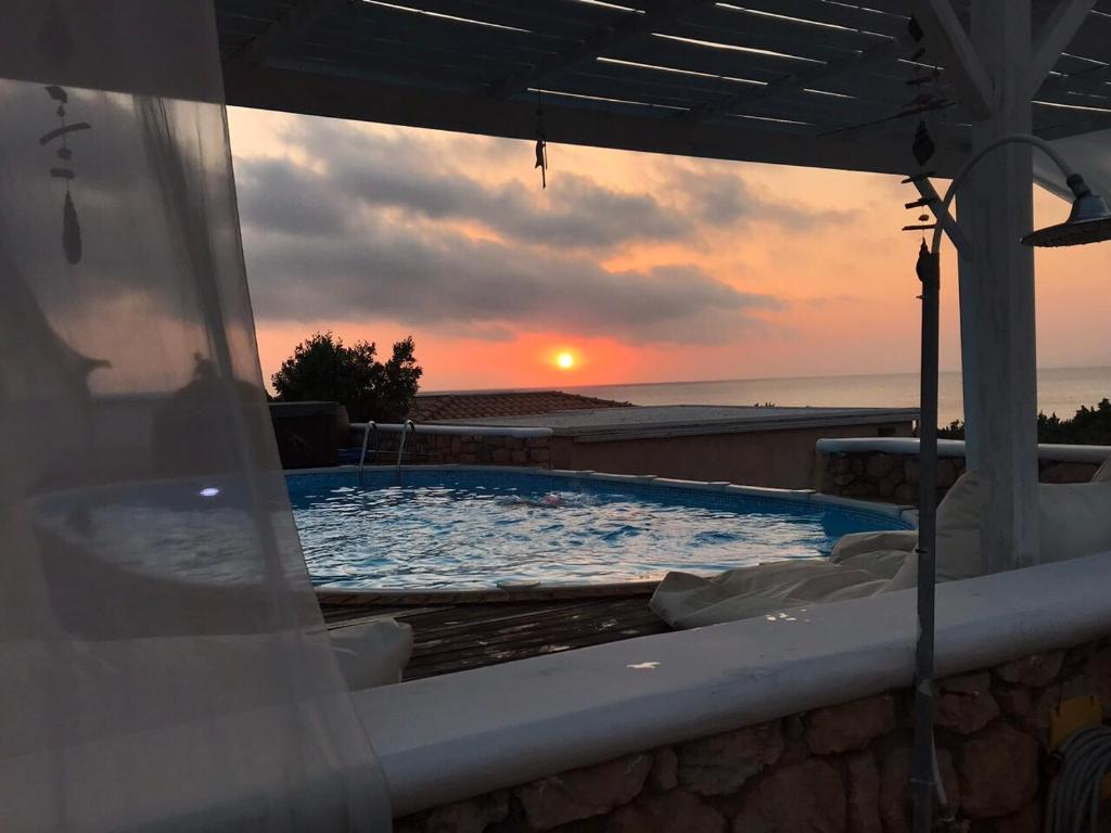 The swimming pool at or near Elafonisos Mare