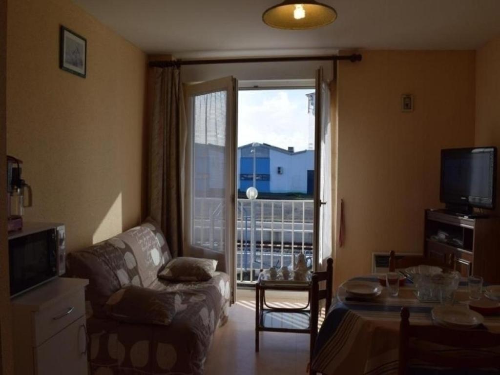Coin salon dans l'établissement Apartment Saint gilles croix de vie - 4 pers, 26 m2, 2/1 1