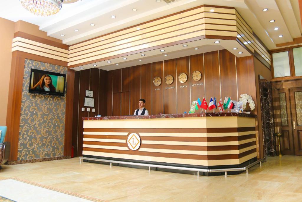 The lobby or reception area at LARA HOTEL SPA