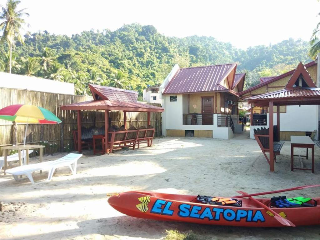 El Seatopia Beach Cottages Nido