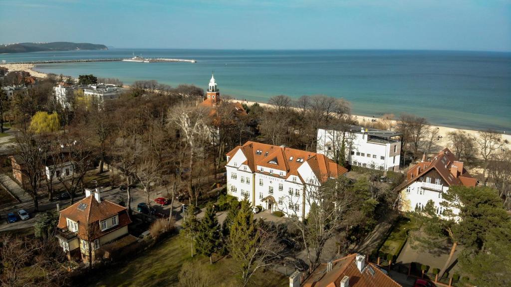 Apgyvendinimo įstaigos Hotel Villa Baltica vaizdas iš viršaus