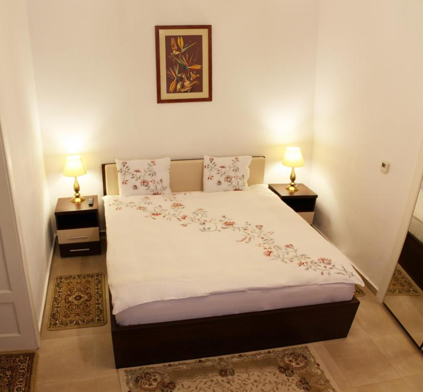 A bed or beds in a room at Casa Graef