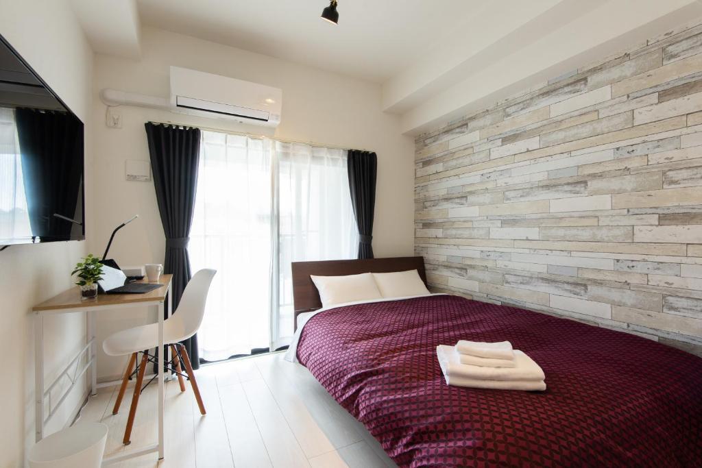 MP Hotels Nagasaki Mizubenomori 객실 침대