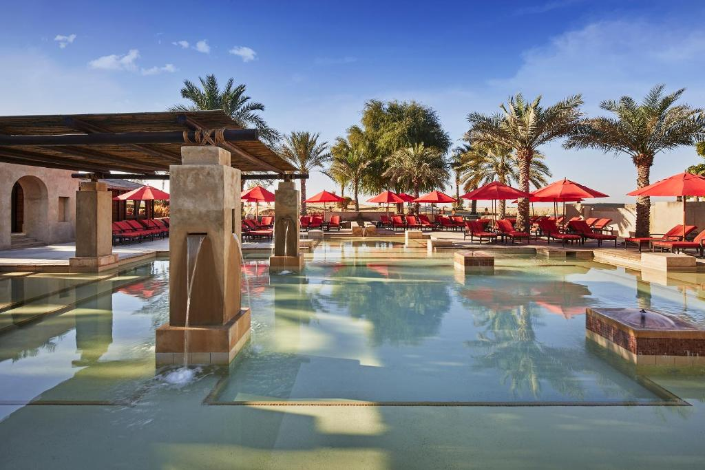 The swimming pool at or near Bab Al Shams Desert Resort and Spa