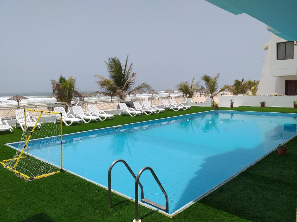 The swimming pool at or near Salalah Beach Villas
