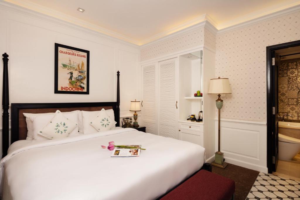 Phòng Premier Deluxe - Bao Gồm Bể Jacuzzi & Phòng Xông Hơi Khô Trên Sân Thượng