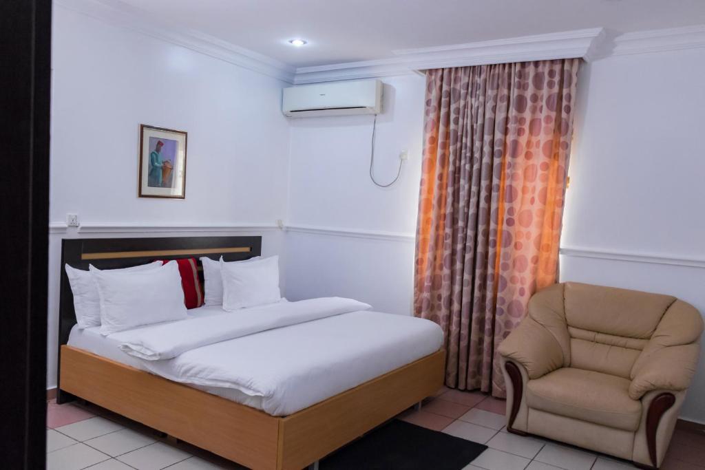 Cama o camas de una habitación en Bristlecone