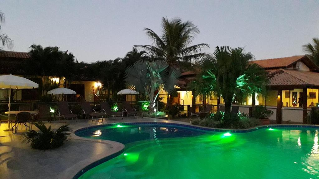A piscina localizada em Pousada Surucuá - Bonito MS ou nos arredores