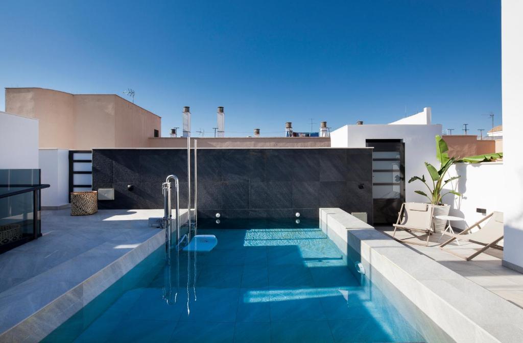 The swimming pool at or near Casa Noa Apartments