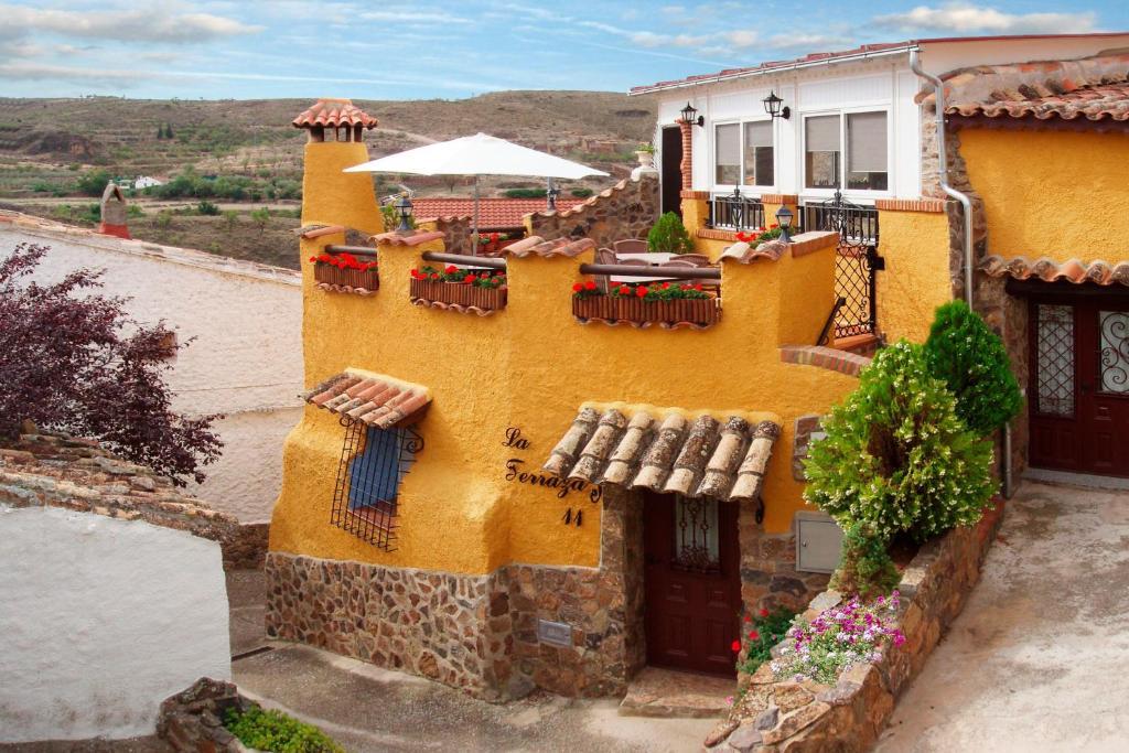 Casa Rural La Terraza España Huérmeda Booking Com