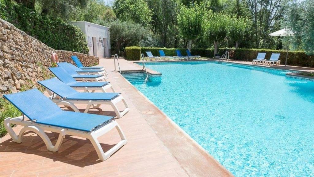 Majoituspaikassa Hotel Villa de Laujar de Andarax tai sen lähellä sijaitseva uima-allas