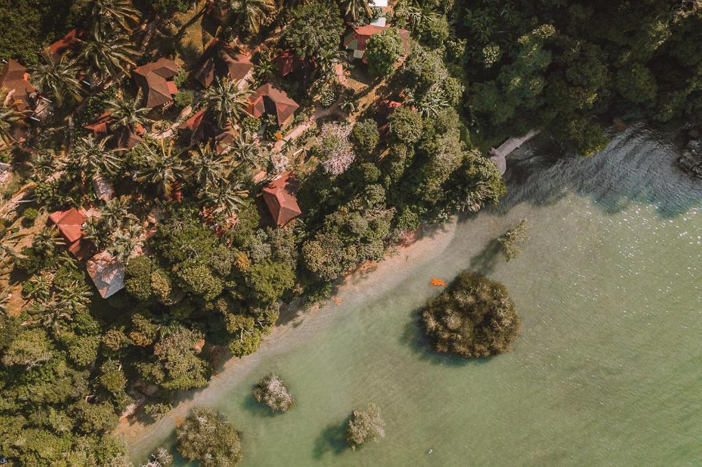 A bird's-eye view of Railay Garden View Resort
