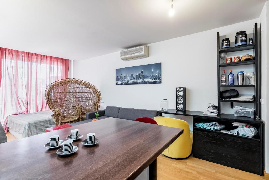 Apartment Fántastico Estudio Con Terraza Privada Y Piscina