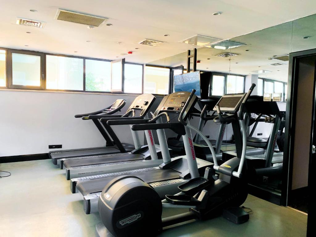Фитнес-центр и/или тренажеры в Sura Hagia Sophia Hotel