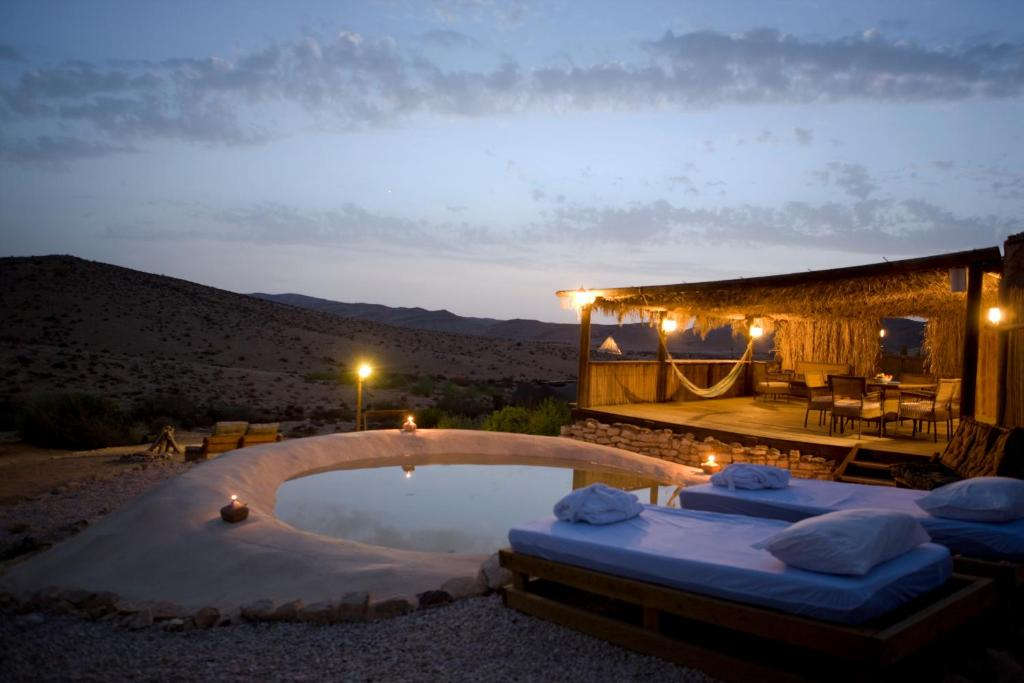 The swimming pool at or near Desert Olive Farm