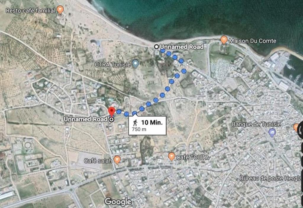 Lejligheden My Home Is My Castle Tunesien Hergla Booking Com