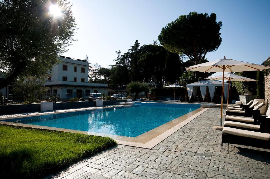 The swimming pool at or near Hotel Castle
