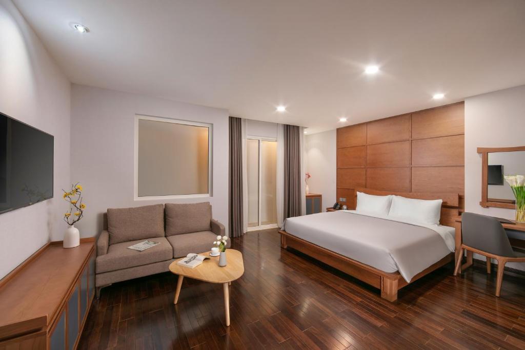 Phòng Executive Giường Đôi - Miễn Phí Nhận Phòng Từ 10:00