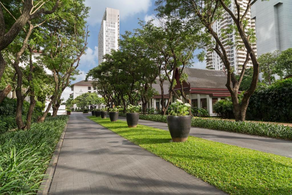 En have udenfor The Sukhothai Bangkok