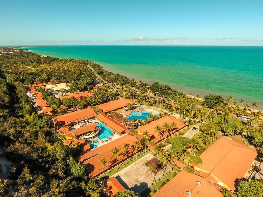 Uma vista aérea de Porto Seguro Praia Resort - All Inclusive