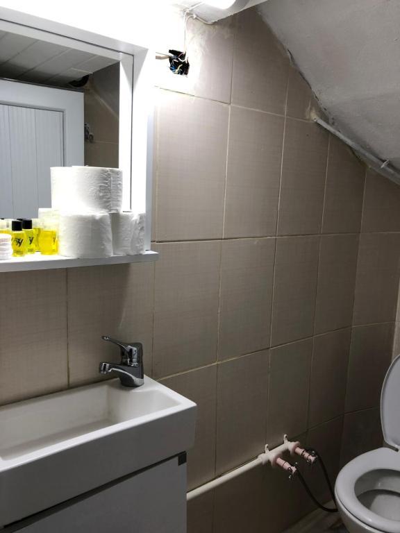 Ванная комната в Cezayir Butik Otel