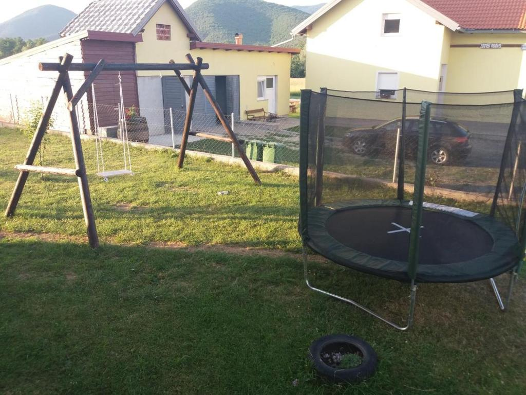 Children's play area at Apartments and rooms with parking space Vranovaca, Plitvice - 17461
