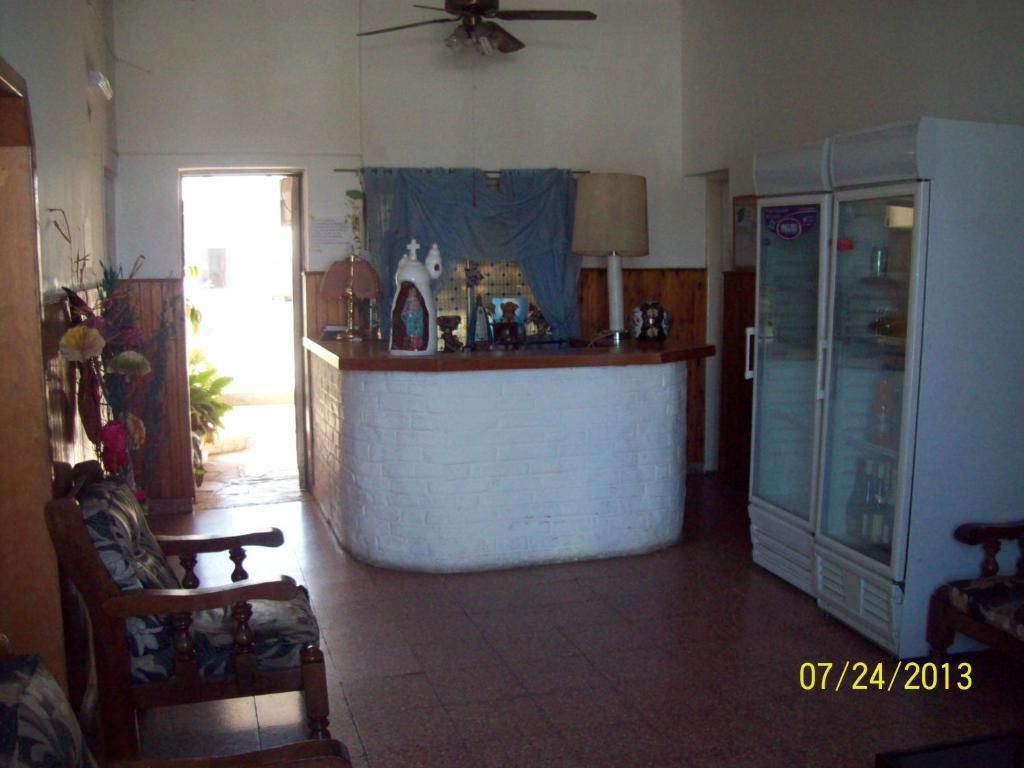 The lobby or reception area at Hotel Ibiza