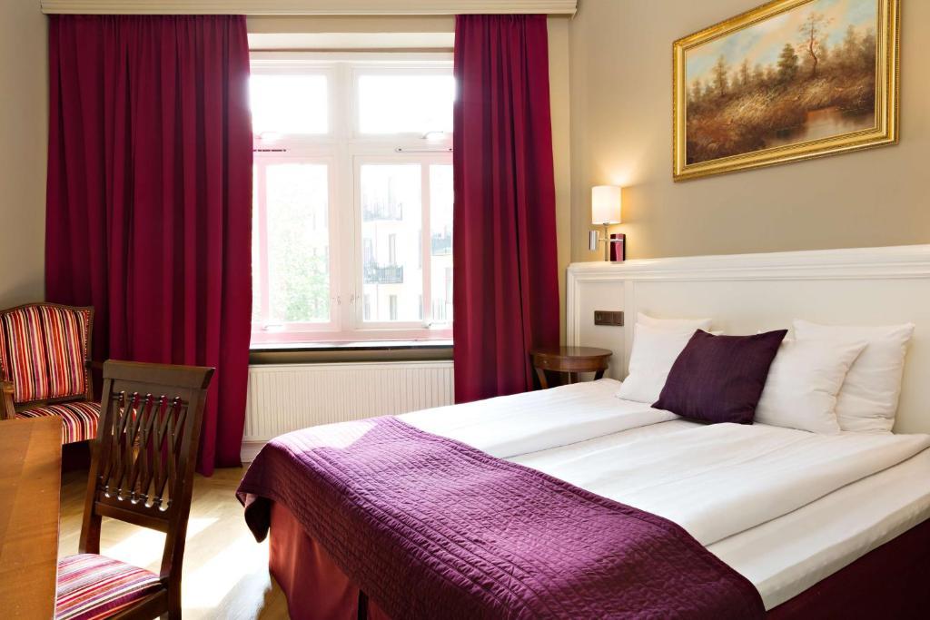 Krevet ili kreveti u jedinici u okviru objekta Hotel Vasa, Sure Hotel Collection by Best Western