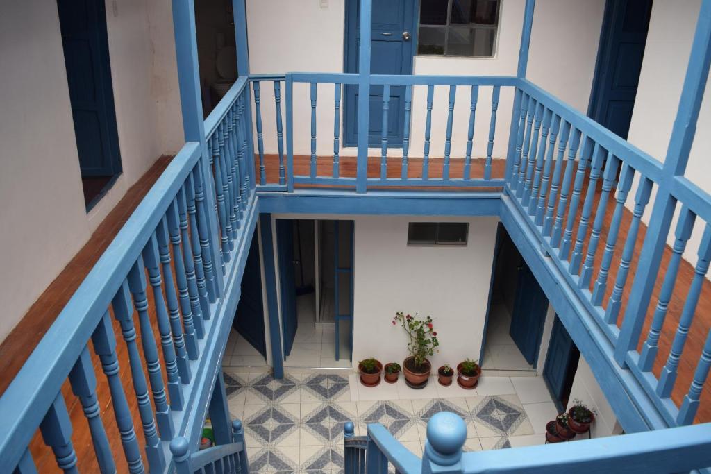 Un balcón o terraza de Carlos Guest House Cusco