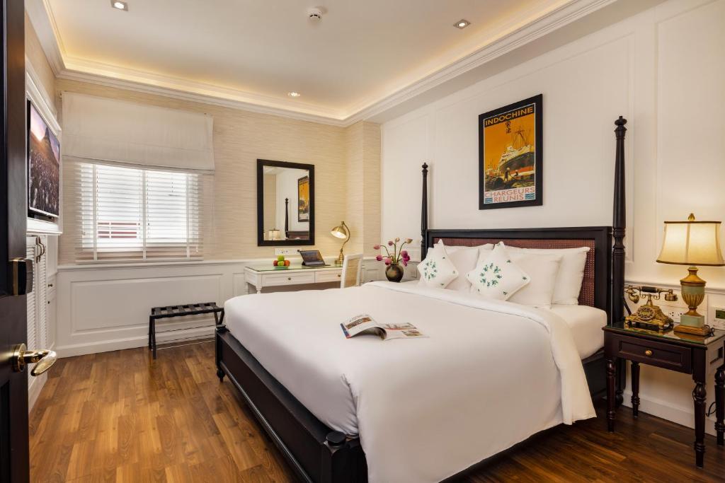 Phòng Deluxe Giường Đôi Có Cửa Sổ - Bao Gồm Bể Jacuzzi & Phòng Xông Hơi Khô Trên Sân Thượng