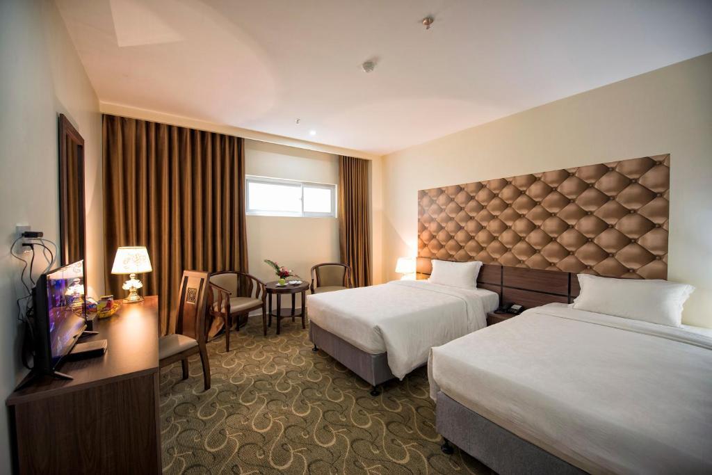Phòng 2 Giường Đơn Nhìn Ra Hồ.