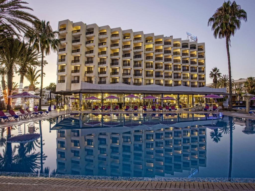 The swimming pool at or near Royal Mirage Agadir