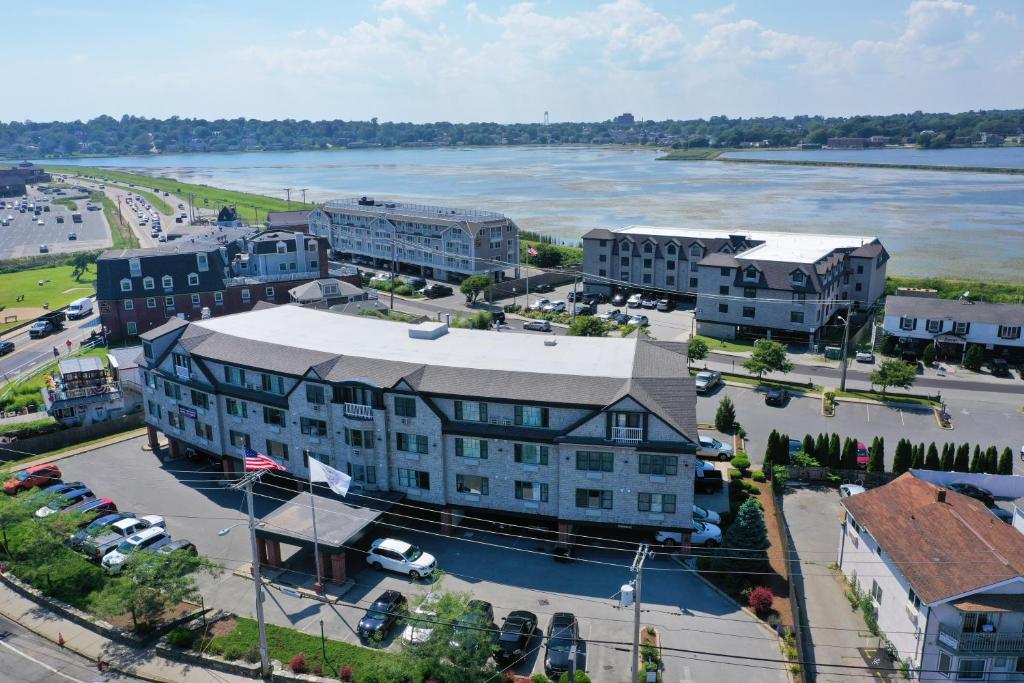 A bird's-eye view of Atlantic Beach Hotel and Suites