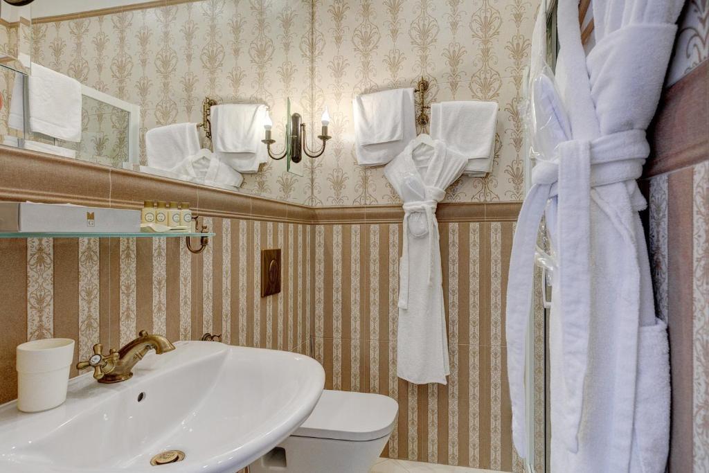 Ванная комната в Града Бутик Отель