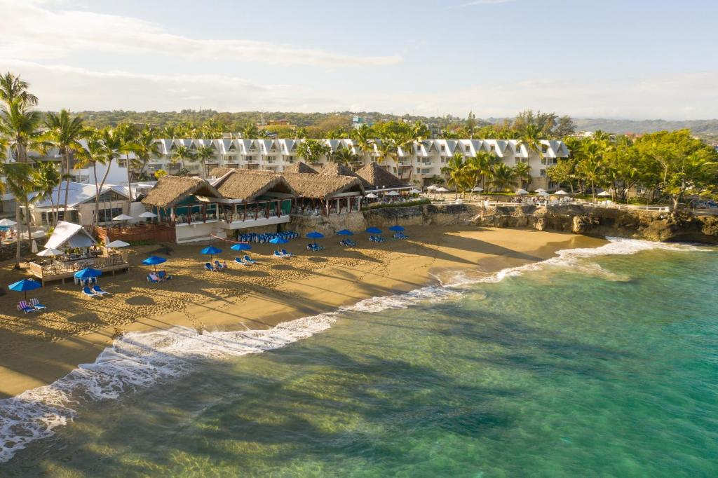 A bird's-eye view of Casa Marina Beach & Reef All Inclusive