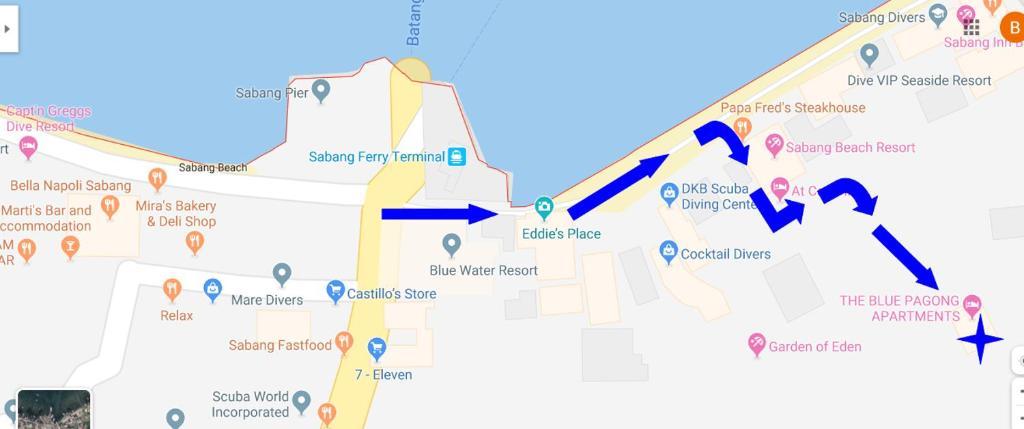 Планировка The Blue Pagong