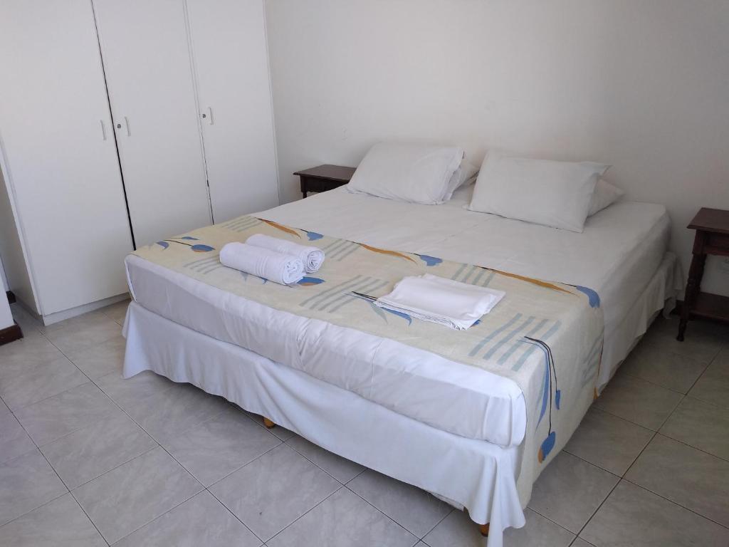 Cama ou camas em um quarto em Hotel Pelourinho