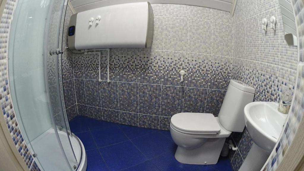 Ванная комната в Gourmet Hotel Wild Chocolate